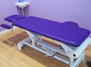 Foto 3: cabina de tratamiento
